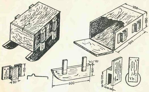 Рыбацкий домик своими руками чертежи 46